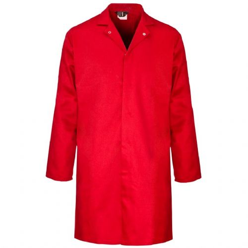 Supertouch Polycotton Red Food Coat